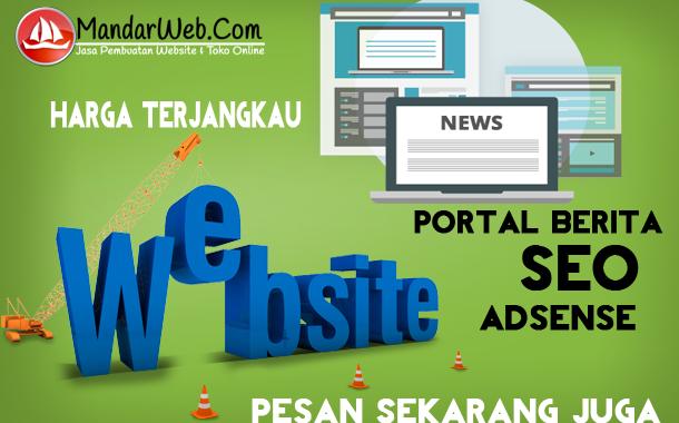 Pesan Website Portal Berita