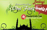 Pulsa Gratis Hari Raya By Mandarweb.com